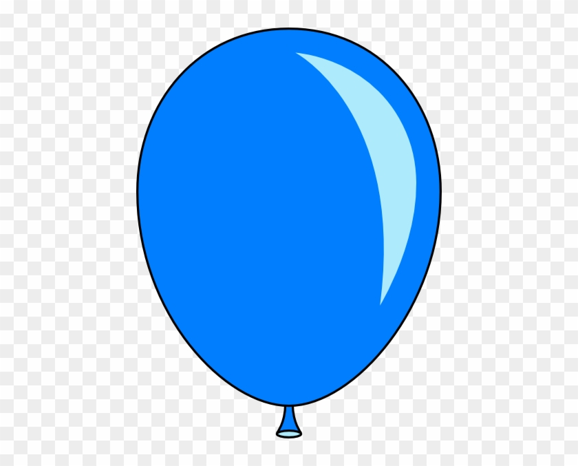 Enjoyable Inspiration Ballon Clip Art New Blue Balloon - Blue Balloon Clip Art #6439