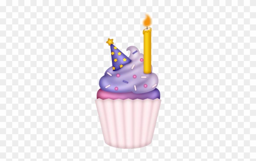 Cupcake Cumpleaños Dibujo