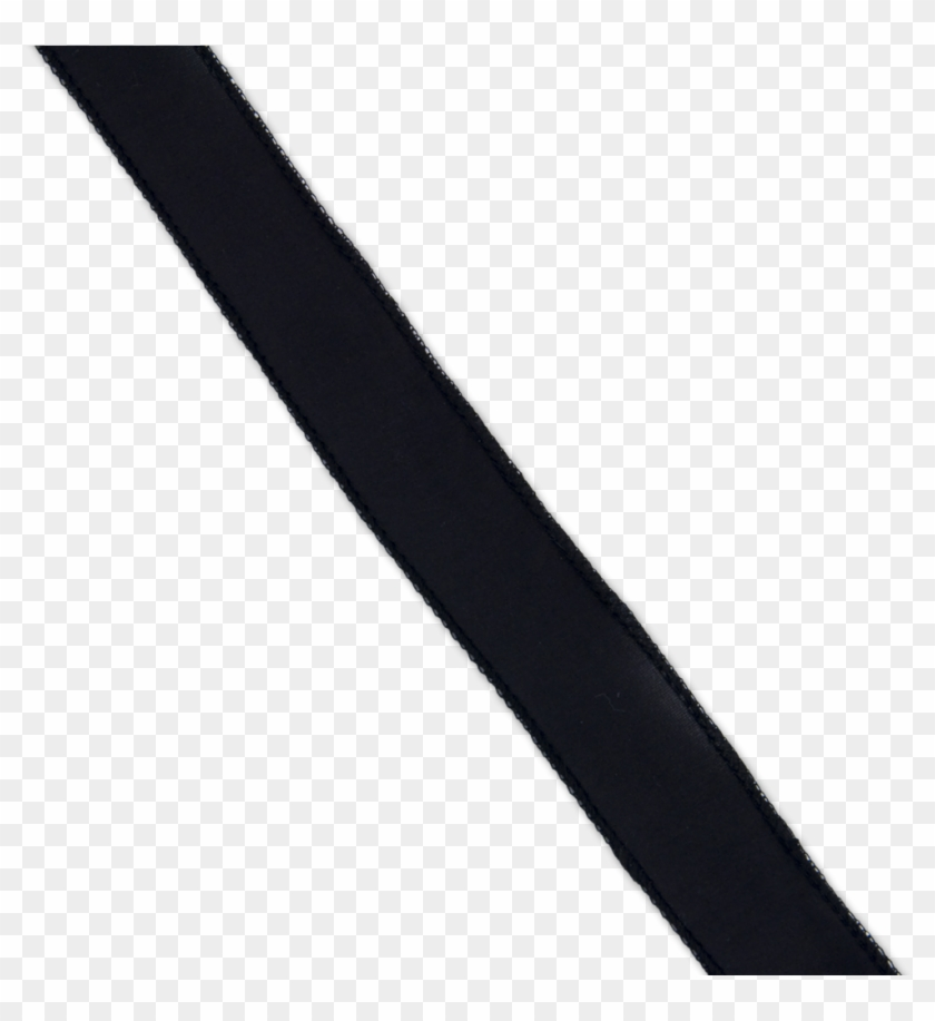 Black Silk Ribbon - Blackribbon Png #6458