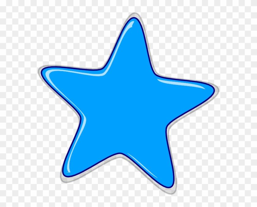 Star Blue Clipart Edited2 Clip Art At Clker Com Vector - Star Clip Art #6460