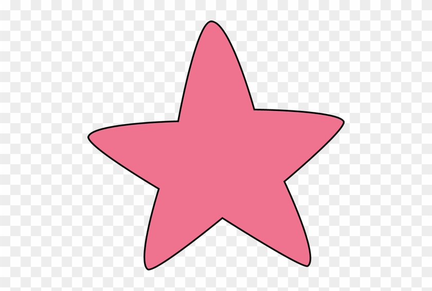 Pink Rounded Star - Star With Rounded Edges #6463