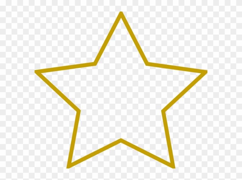 Star Clip Art - Shape Of A Star #6470