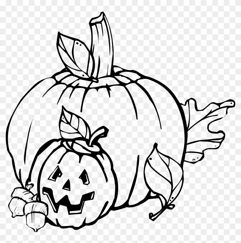 Black And White Thanksgiving Clip Art Clipart Best - Black And White Halloween Clip Art #6482