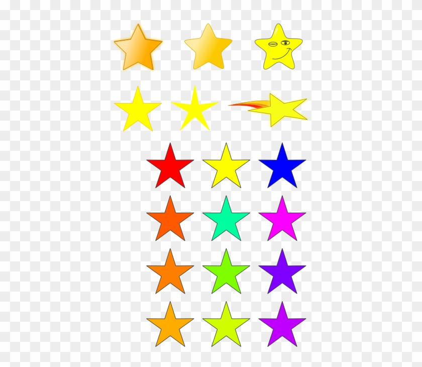 Stars Clip Art Primitives Free Clipart Images - 14 Stars #6486