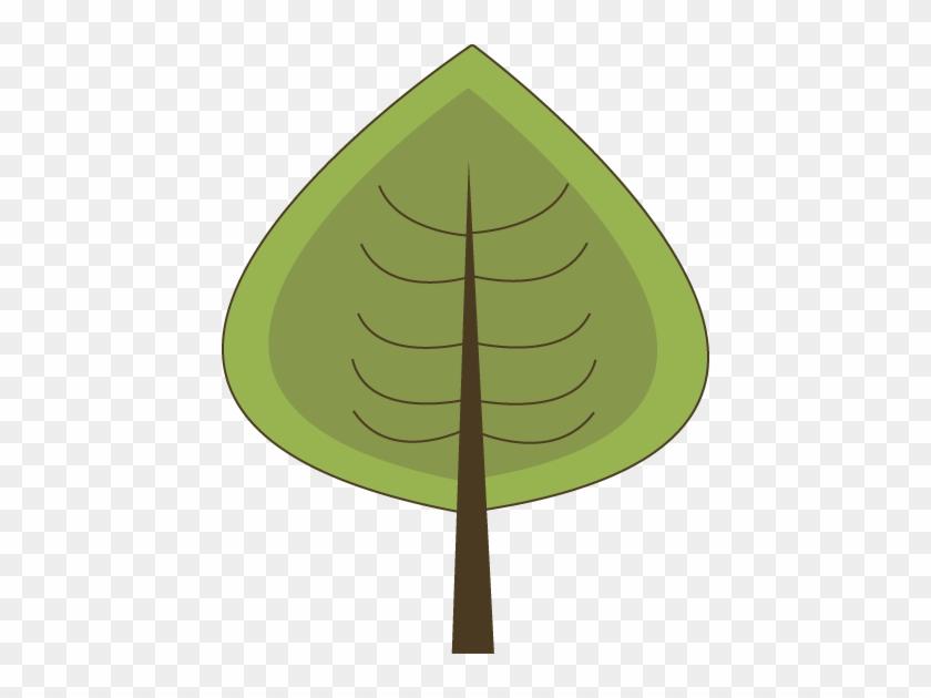 Modern Green Tree - Modern Green Tree #71