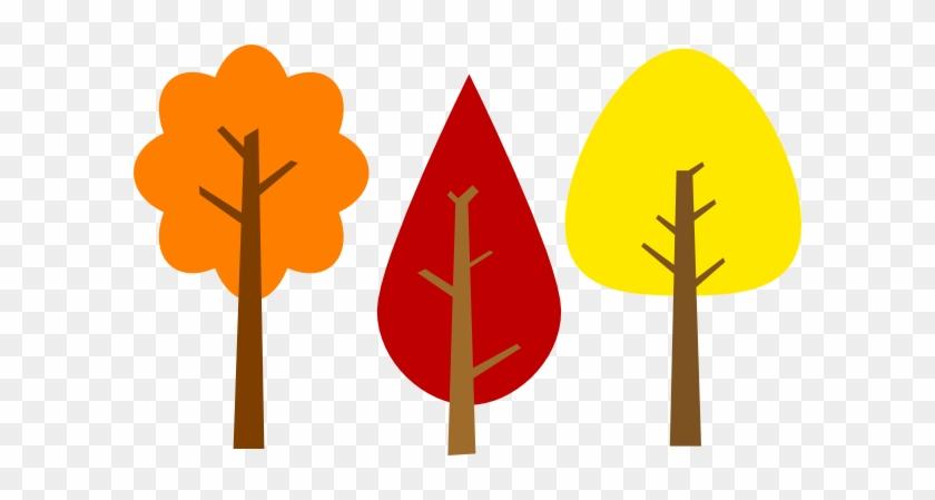 Fall Trees Clip Art At Clker - Fall Trees Clip Art At Clker #672