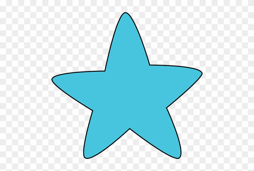 Blue Star Clipart Blue Rounded Star Clip Art Blue Rounded - Star Clip Art Blue #6533