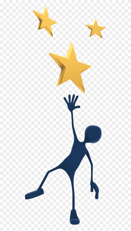 Cartoon Reach The Stars Clipart - Reach For The Stars Png #6547