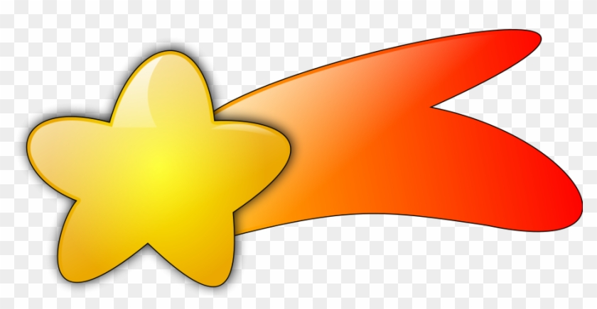 Stars Clip Art Pictures Clipart - Cartoon Shooting Star Png #6561