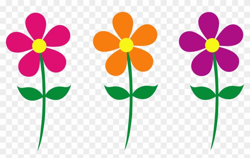 Flower Clipart - Spring Flowers Clip Art #6605
