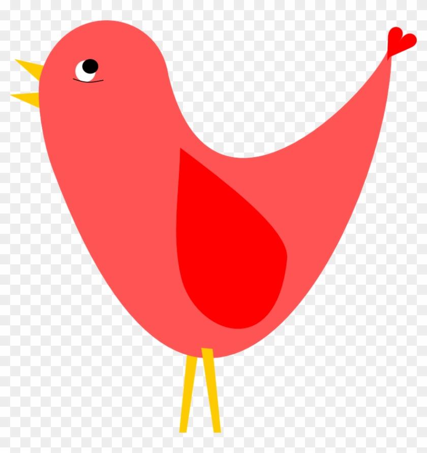 Red Birds Clipart Clipart Best - Bird Clip Art Transparent #6633