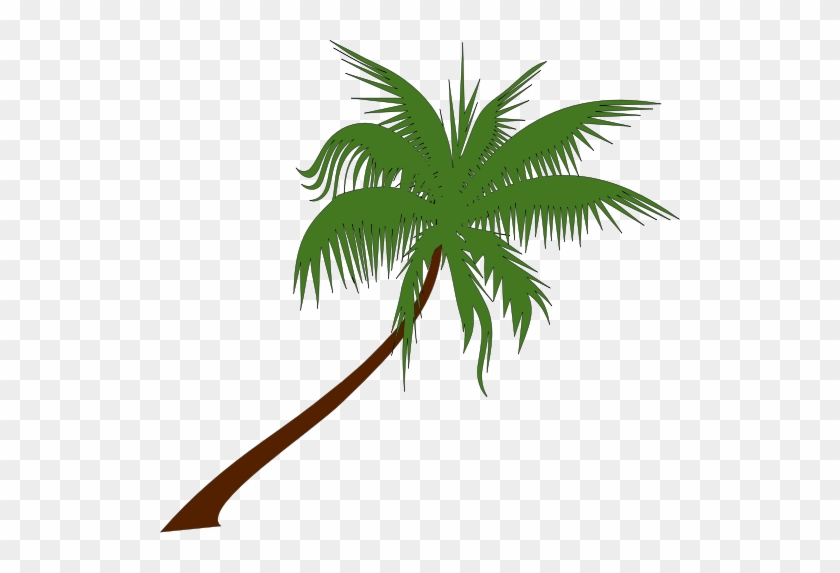 Palm Tree Clip Art Free Bbw Watermark Free - Coconut Trees Clip Art #670
