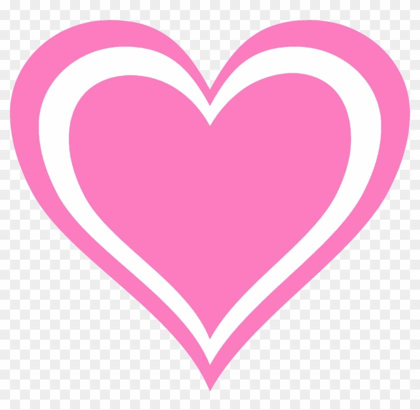 Valentine's Day Clip Art - 素材 ハート ピンク #6649