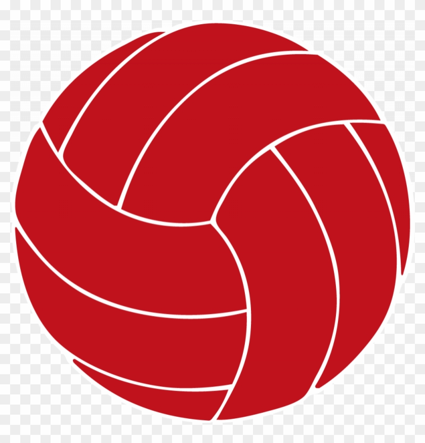 Red Clipart Volleyball - Texas A&m Volleyball Logo #6653