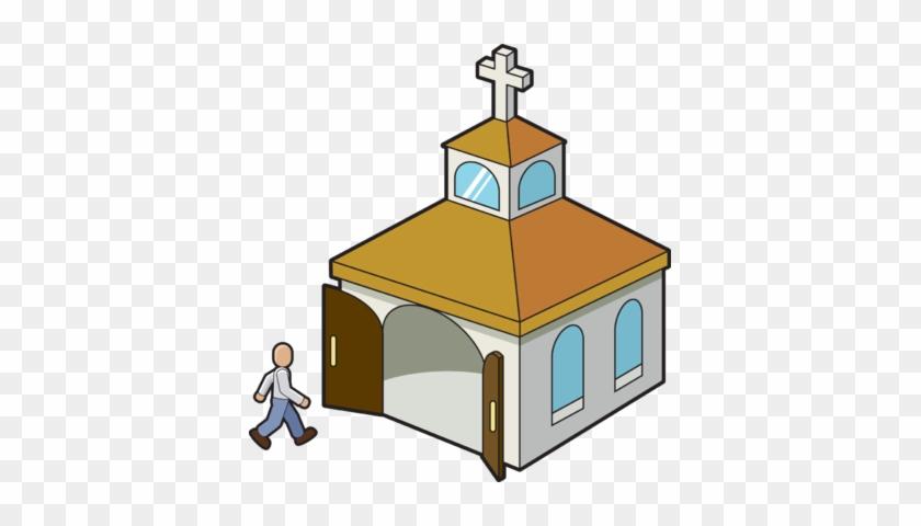 Going To Church Clip Art - Ir A La Iglesia #683