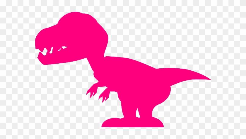 Pink Dinosaur Clip Art - Pink Dinosaur Clipart #6656
