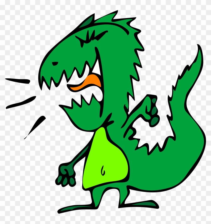Free Face Dragon Tattoo Free Loopy Asian Dragon Frame - Angry Dinosaur Clipart #6658
