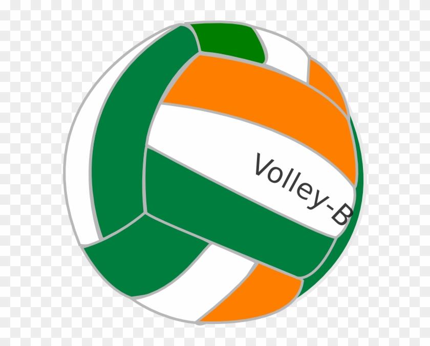 Volley Ball India Clip Art - Volleyball Ball Cartoon Png #6666