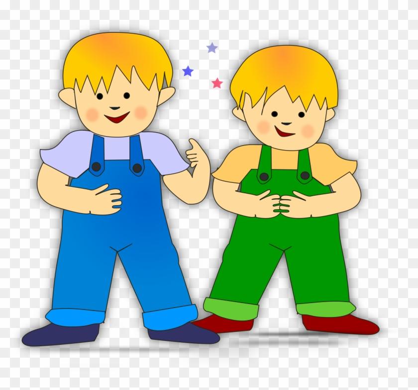 2 Boys Clipart #6672