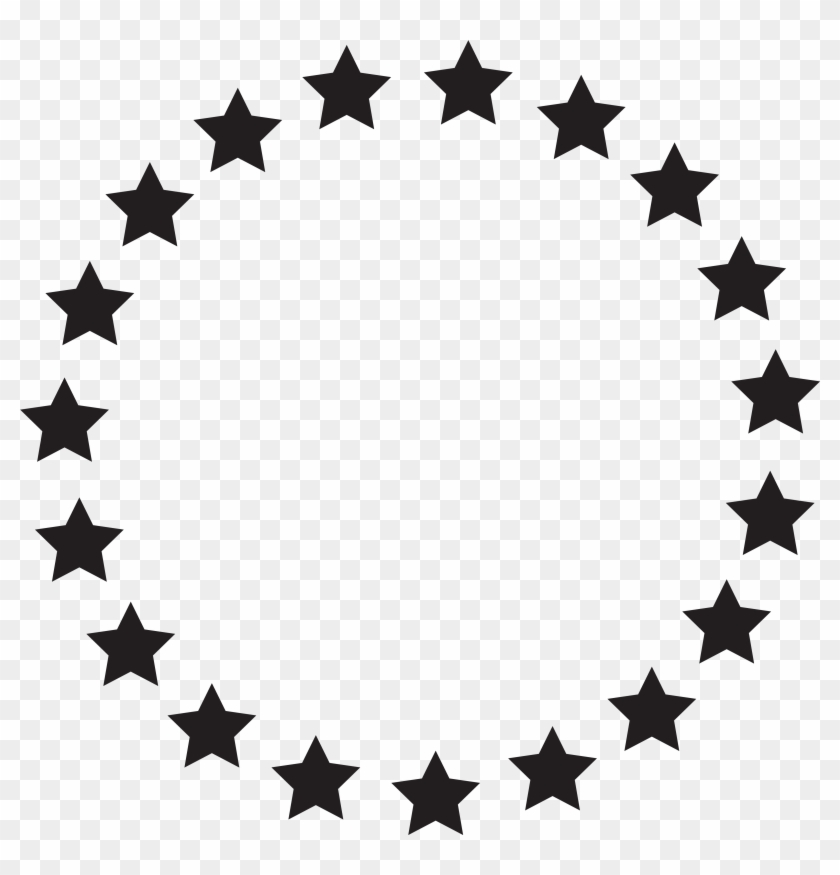 Download File - Circle Of Stars Png #6703