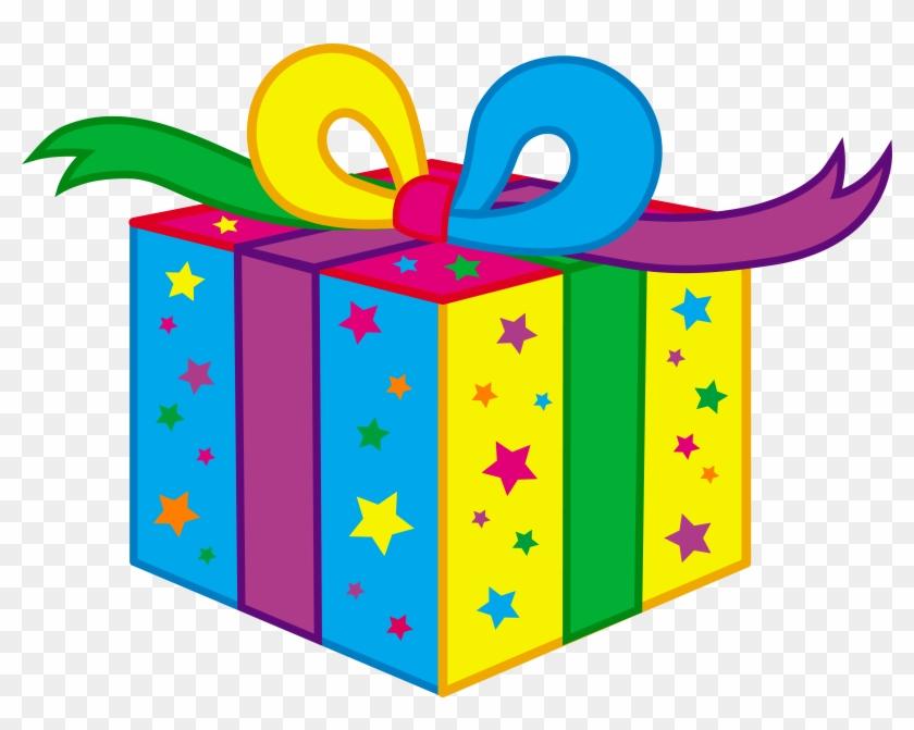 Kids Birthday Party Present - Present Clipart #6728