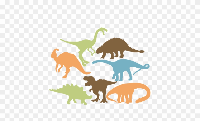 Dinosaur Silhouette Clipart With No Background Collection - Silhouette #6700