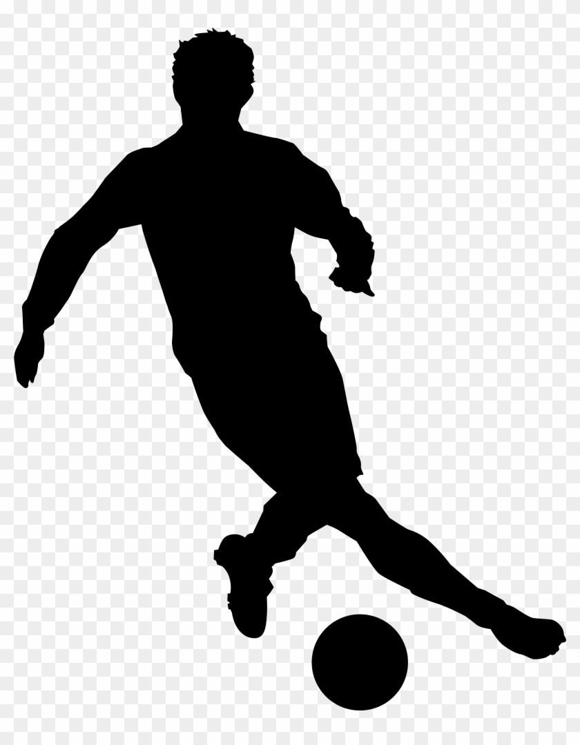 Football Player Silhouette Png Clip Art Imageu200b - Football Player Silhouette Png Clip Art Imageu200b #6743