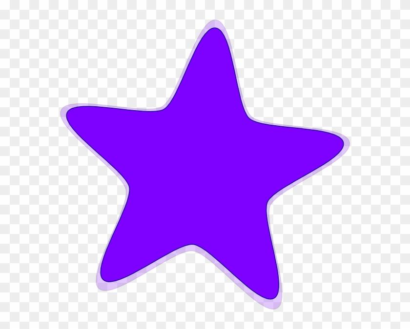 Purple Star Clipart Purple Star Clip Art At Clker Vector - Star Clip Art #6718