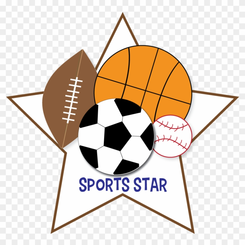Free Sports Clipart For Parties Crafts School Projects - Sports Ball Clip Art #6723