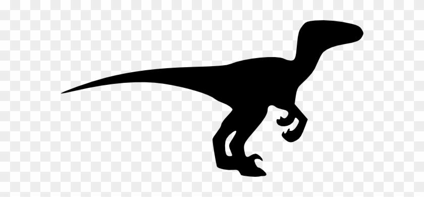 Velociraptor Silhouette #6727