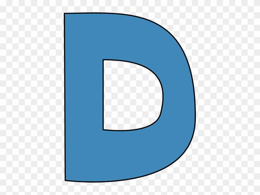 Clip Art D Blue Alphabet Letter D Clip Art Blue Alphabet - Roman Catholic Diocese Of Trenton #719