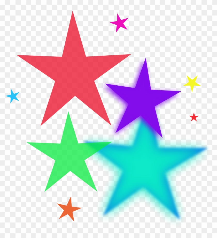 Image Of Colorful Stars Clipart - Short Prayer For Grand Parents #6735