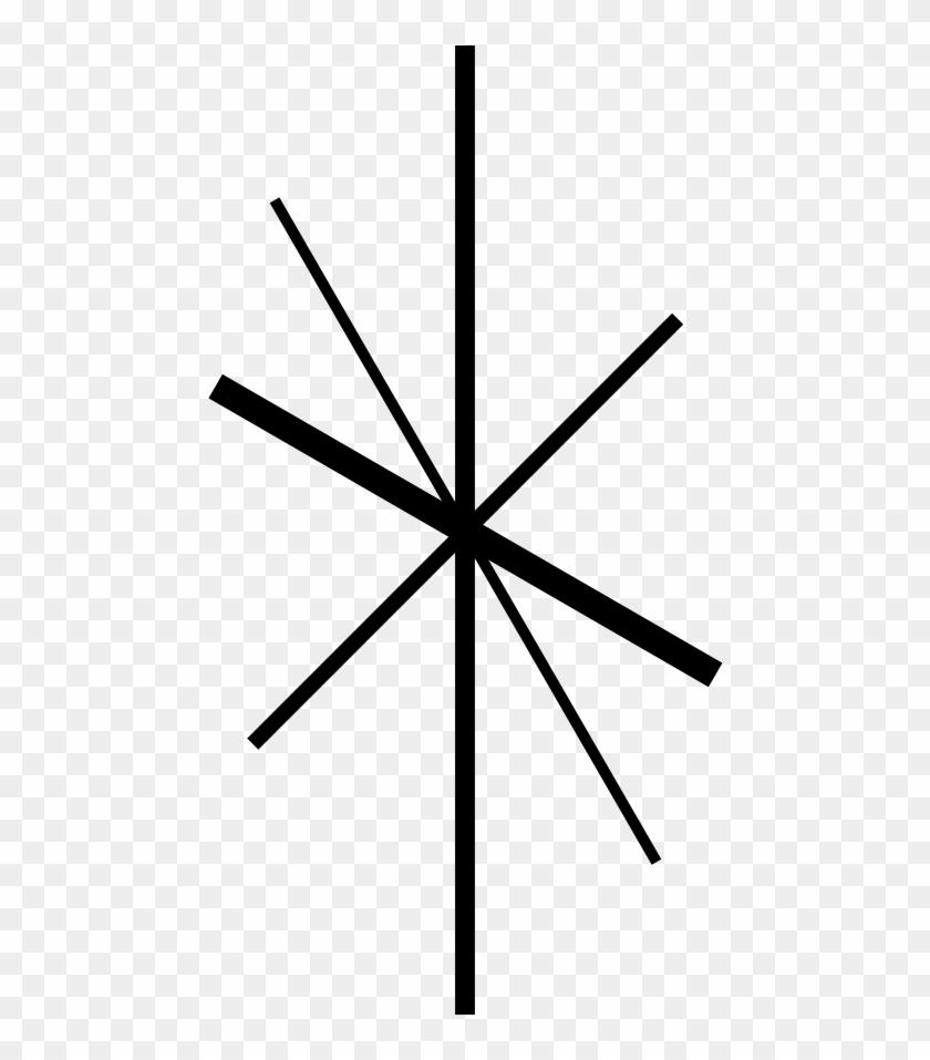 Retro Star Clipart Kid - Circle #6737