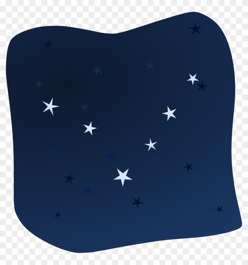 Night Stars Clip Art - Stars Clipart In The Night Sky #6739