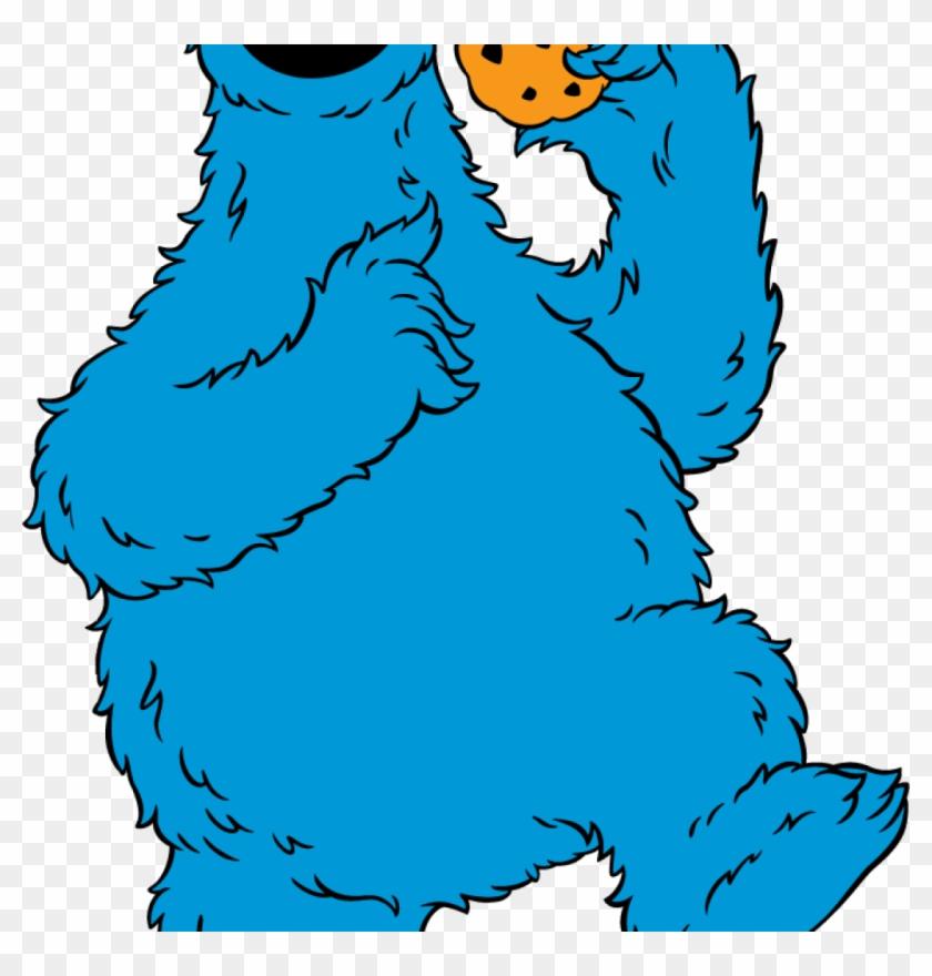 Cookie Monster Clipart Cookie Monster Clip Art Sesame - Cookie Monster Clipart #6746