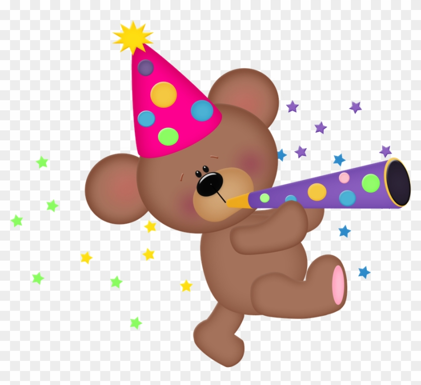 Birthday Clipart, Art Birthday, Birthday Ideas, Bear - Party Bear Clip Art #6748