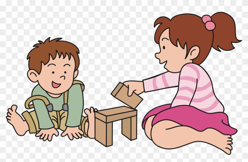Clipart Children Playing - Play Clipart Png #6770