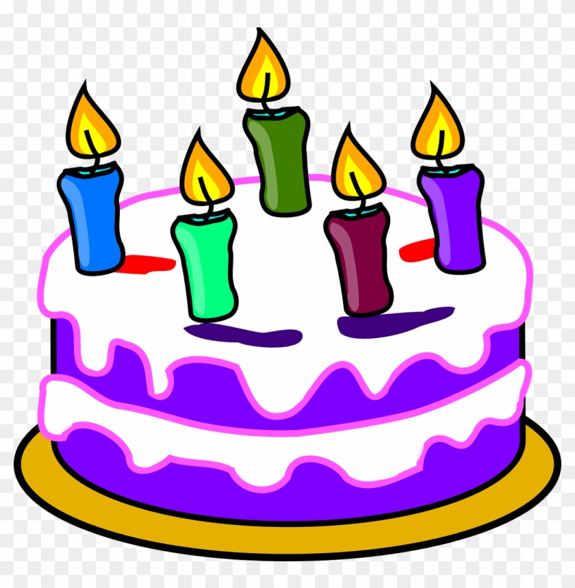 Birthday Clip Art - Cake Clipart Transparent Background #6775