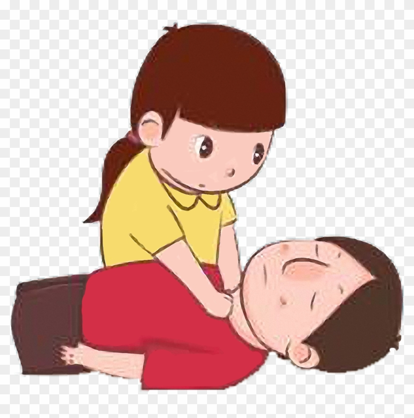 Cardiopulmonary Resuscitation First Aid Clip Art - Cardiopulmonary Resuscitation First Aid Clip Art #6986