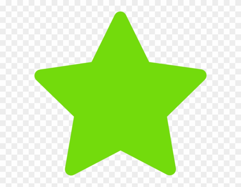 Green Star Clip Art - Star Icon Png Green #6792
