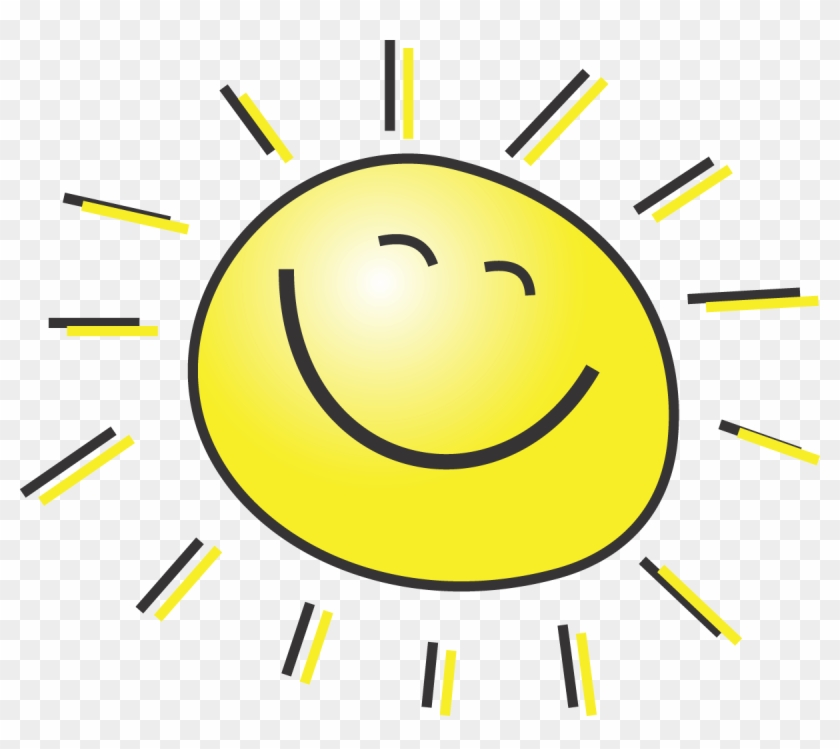 Free Summer Clipart Illustration Of A Happy Smiling - Summer Clipart #6804