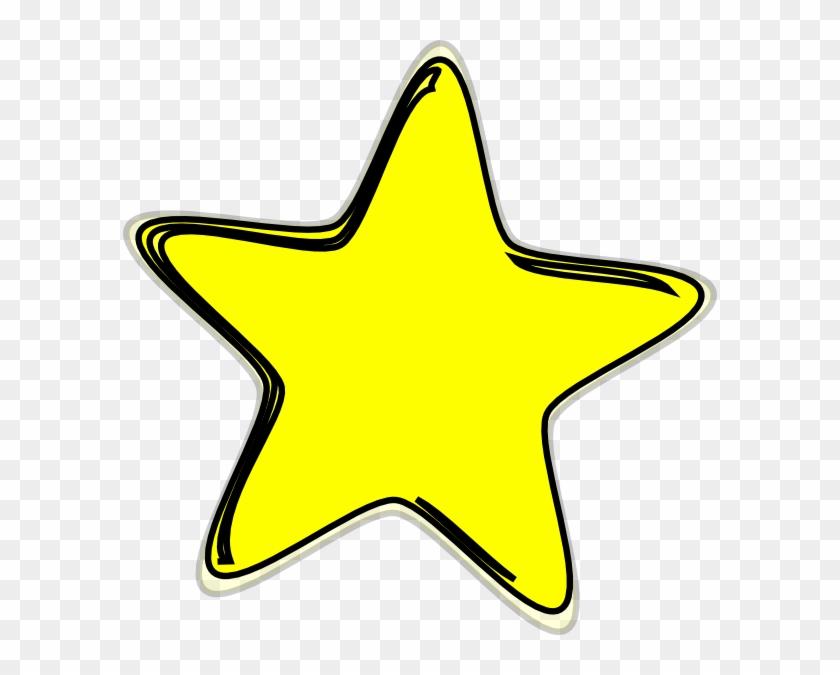Stars Clipart Yellow Star - Yellow Star Clip Art #6810