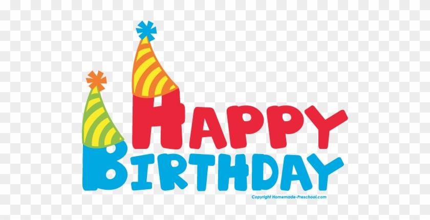 Free Happy Birthday Clipart - Happy Birthday Clipart Transparent #6820