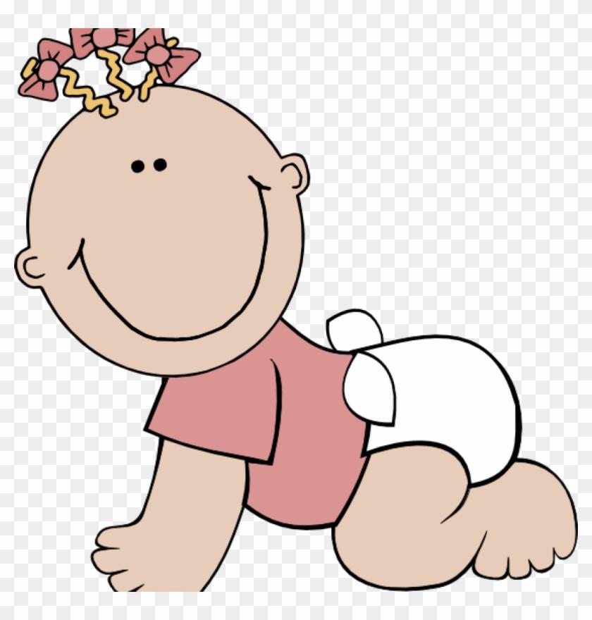 Cute Baby Clipart Ba Girl Cute Clip Art At Clker Vector - Cute Baby Clipart #6822