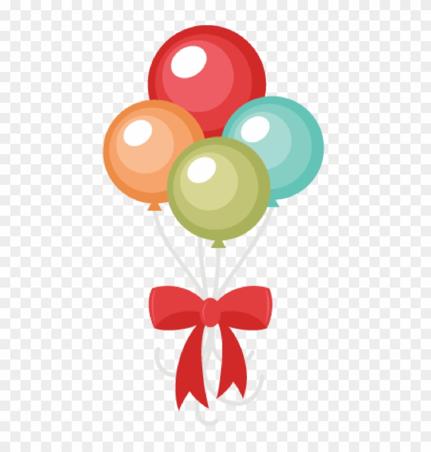 Happy Birthday Clip Art - Cute Balloon Clipart #6838