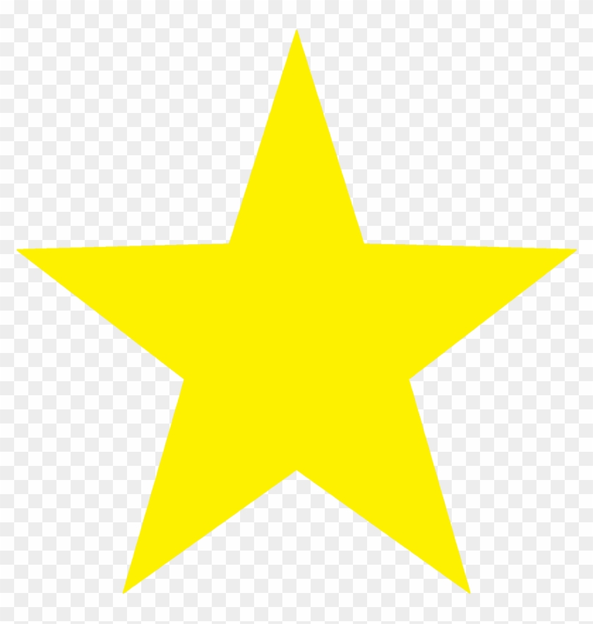 Yellow Stars Clipart Star Clip Art At Vector Clipartbarn - Yellow Star With Black Background #6846