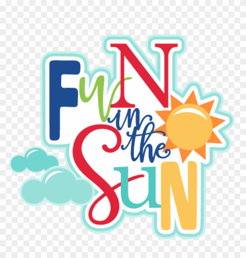 Summer Fun Clip Art Fun Clip Art Summer Fun Clipart - Scrapbooking #6859