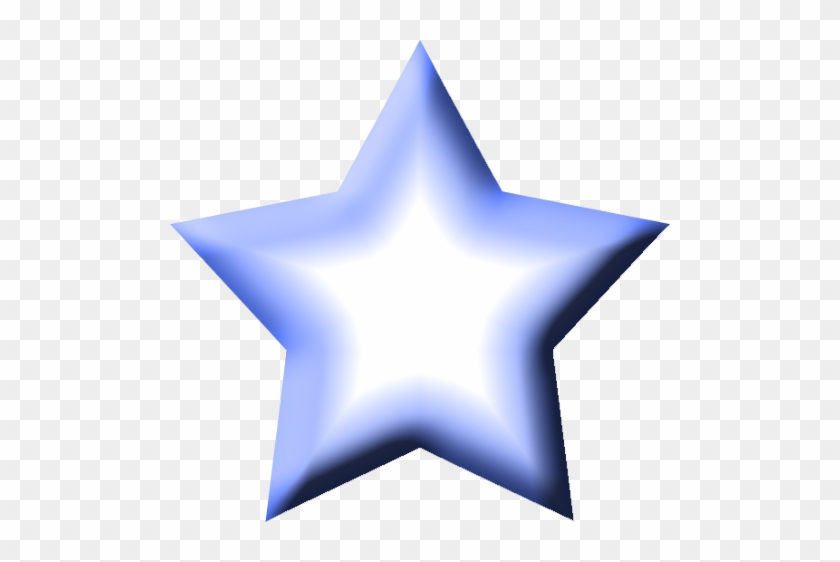 Star Clip Art - Blue Star Png Transparent #6862