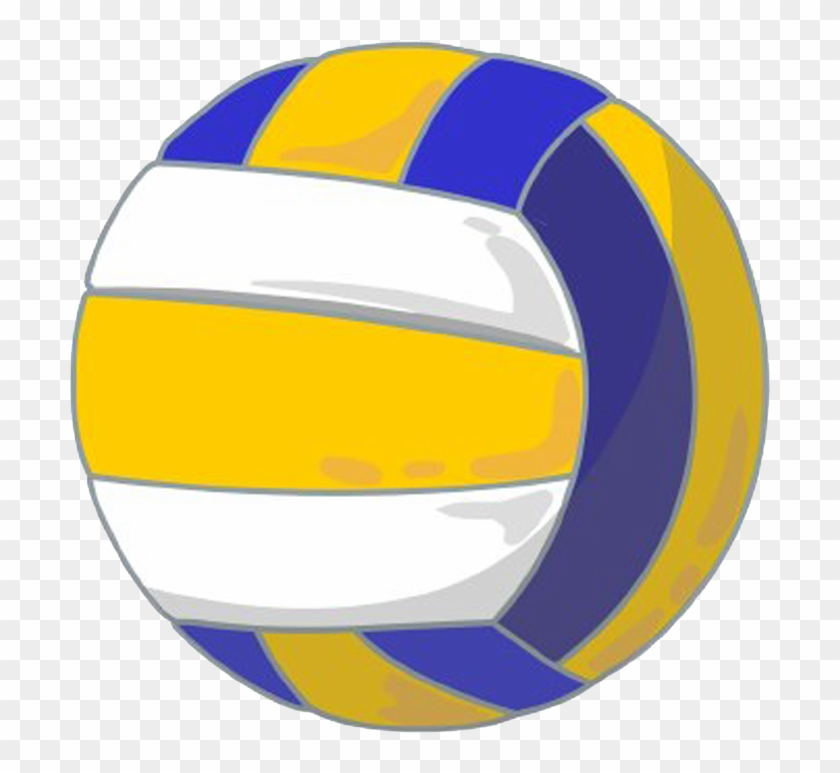 Ball Volleyball Clipart - Mikasa Volleyball Clipart #6869