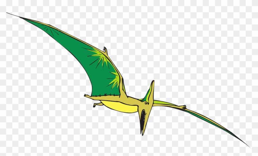 Brds Clipart Dinosaur - Pteranodon Clip Art #6888